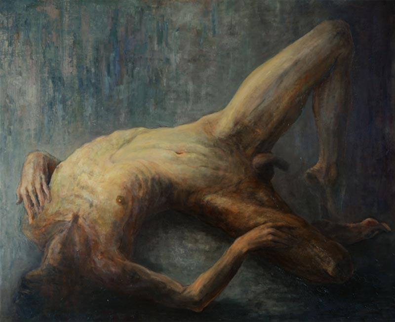 Noella Roos Painting for Sale Ari Dark