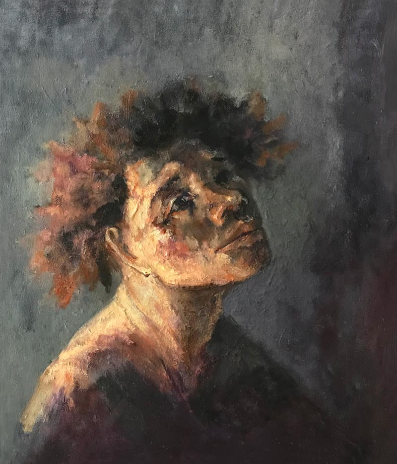 Noella Roos Painting for Sale Boy