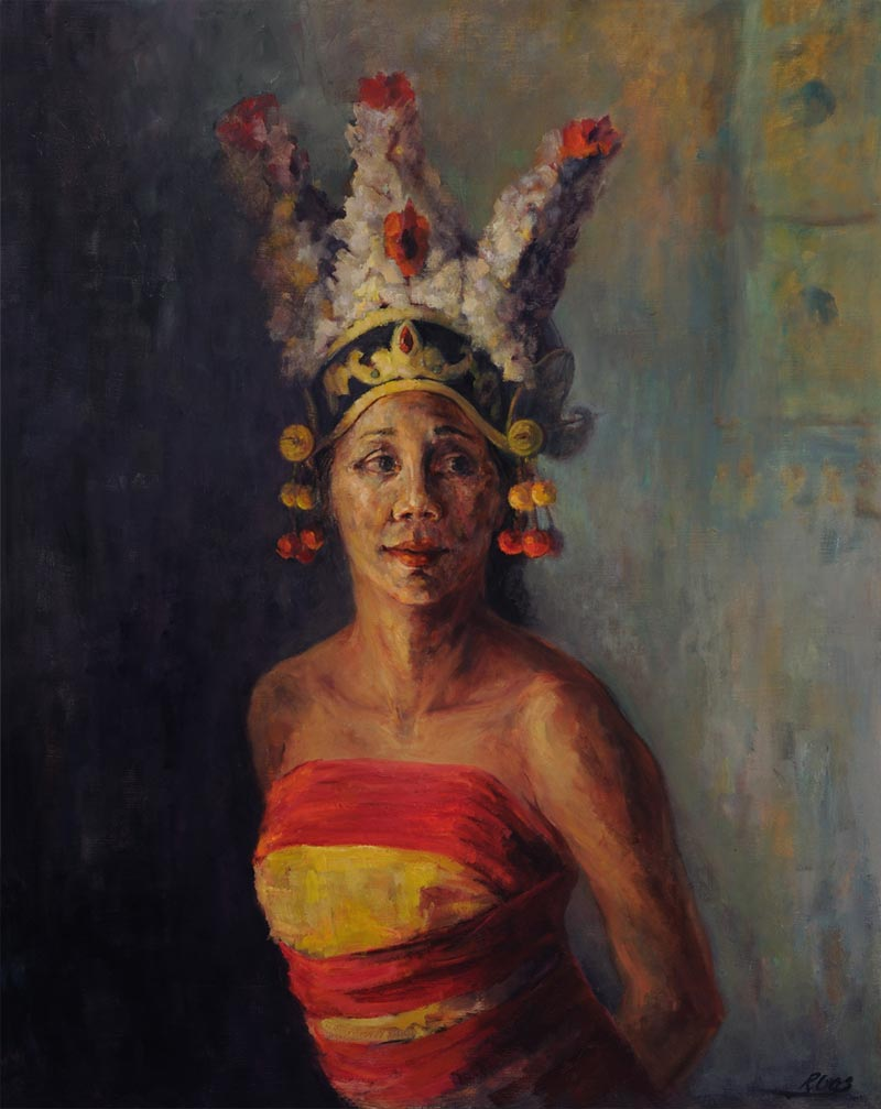 Bali Painting for Sale Dayu by Noella Roos
