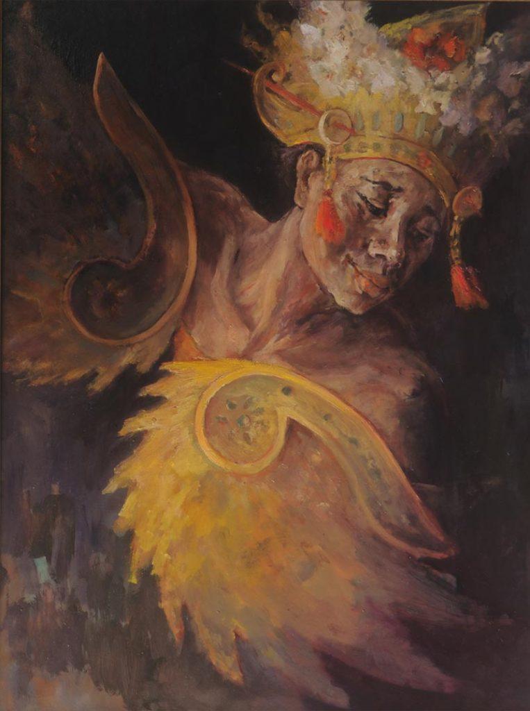 Noella Roos Painting for Sale Garuda Bali