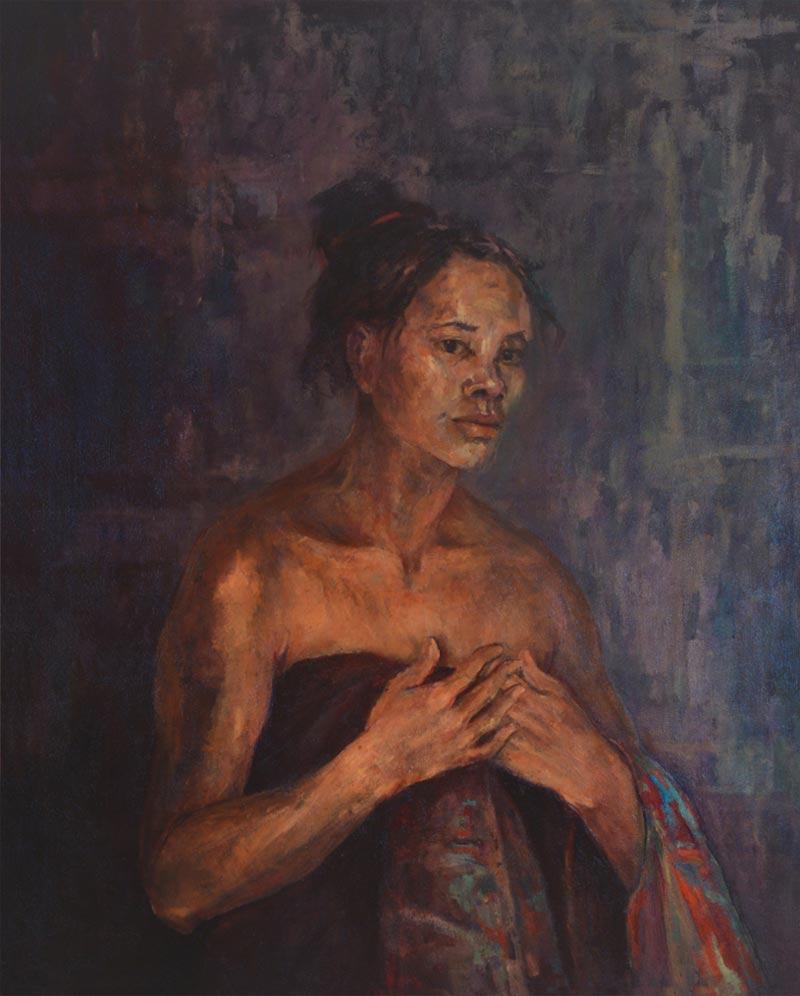 Noella Roos Bali Painting for Sale