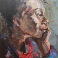 Noella Roos Painting Vietnam Dreams