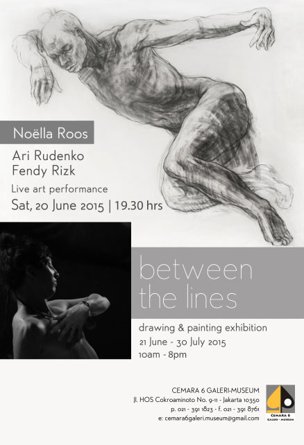 Noella Roos Drawing Exhibition Between the Lines