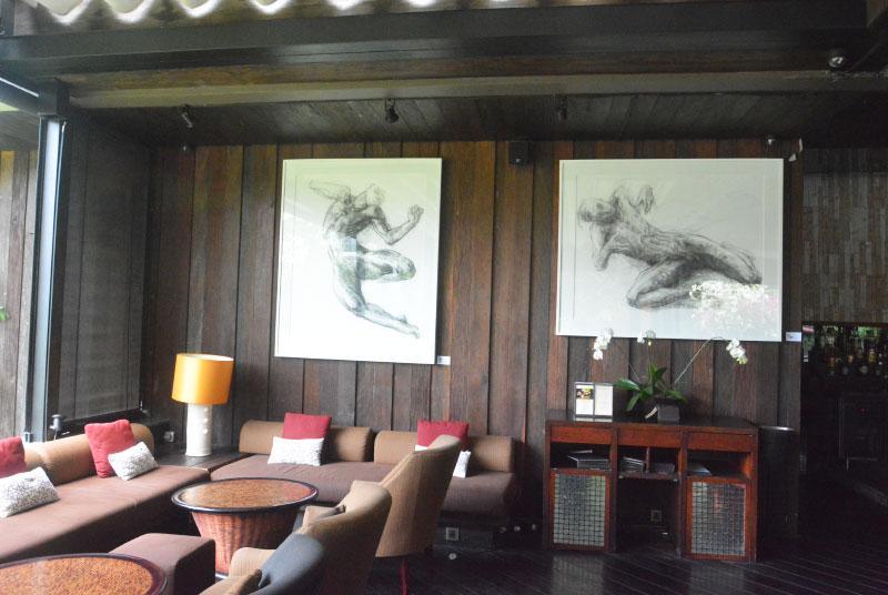 Noella Roos Moving Lines Exhibition Metis Gallery Seminyak Bali 2