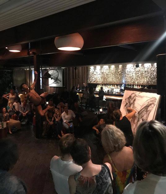Noella Roos Moving Lines Exhibition Metis Gallery Seminyak Bali 6