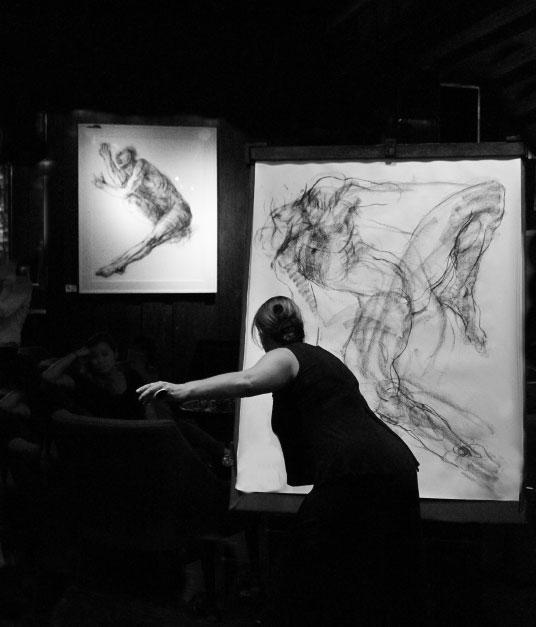 Noella Roos Moving Lines Exhibition Metis Gallery Seminyak Bali 8