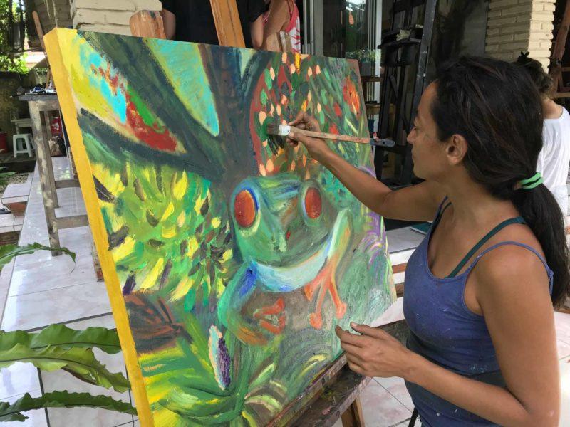 Bali Art Classes Bali Painting Classes Drawing Classes